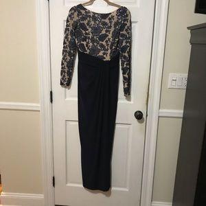 Lauren blue evening gown